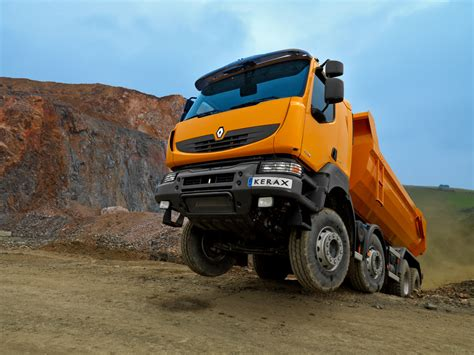 renault kerax renault kerax inşaat kamyonu kamyon kamyonet