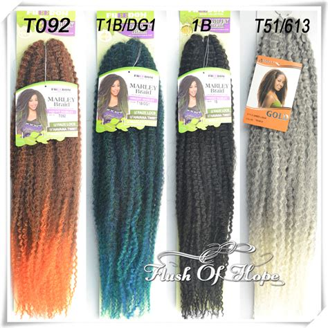 what colors does the marley hair come in 2016 freedom ombre crochet marley braid kinky twist hook