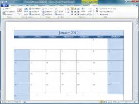 Ms Office Calendar Templates by Office 2010 Office 2010 Calendar Templates