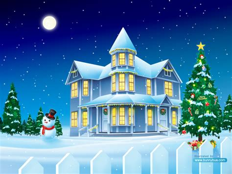 christmas house by bunnybua on deviantart
