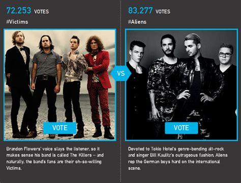 billboard fan army 2017 vote billboard com fan army face off 2015 tokio hotel vs the