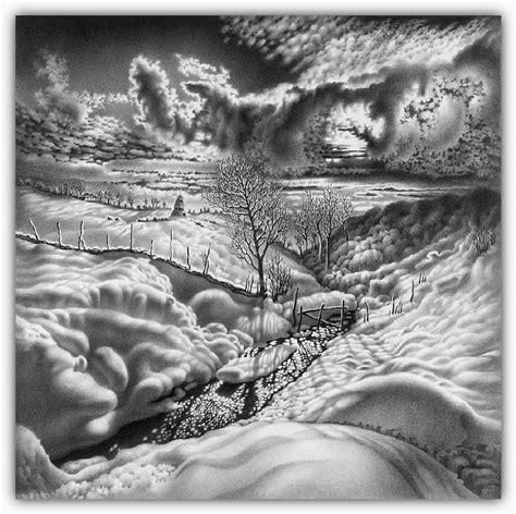 imagenes a lapiz de navidad dibujos hechos lapiz nieve navidad 12