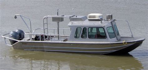 used scully aluminum boats for sale 26 work boats scully s aluminum boats inc