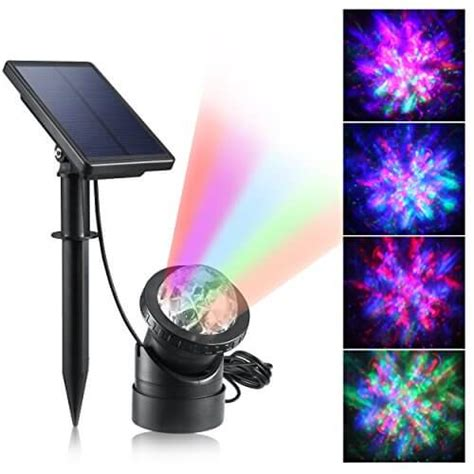 Creative Design Multicolored Submersible Led Lights Solar Lights For Ponds