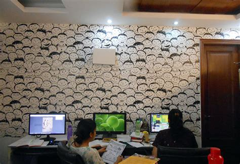 wallpaper design chennai office wall decor ideas