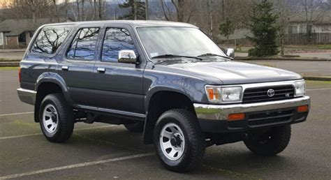 how petrol cars work 1993 toyota 4runner interior lighting 1993 toyota 4runner 4x4 sr5 v6 9 394 original miles showroom quality timecapsule classic