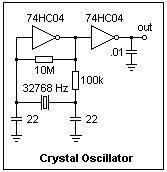 Oscilator 32768 Khz electronics 48