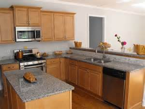 kitchen cabinets with light granite countertops maple cabinets with grey countertops google search