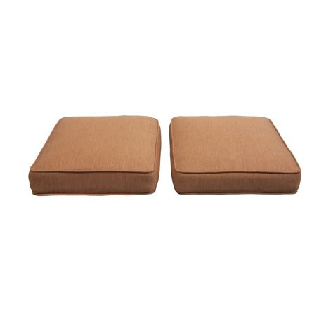 patio ottoman cushions hton bay niles park replacement outdoor ottoman cushion