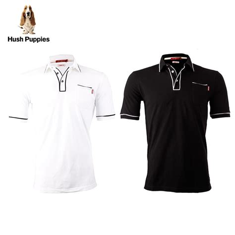 Polo Shirt Pria Hush Pupies Birukaos Kerah Pria Hush Puppies hush puppies pakaian polo shirt pria carraway mk8274 available 2 color elevenia