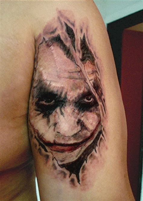 tattoo lady joker 17 joker tattoo designs ideas pictures and images