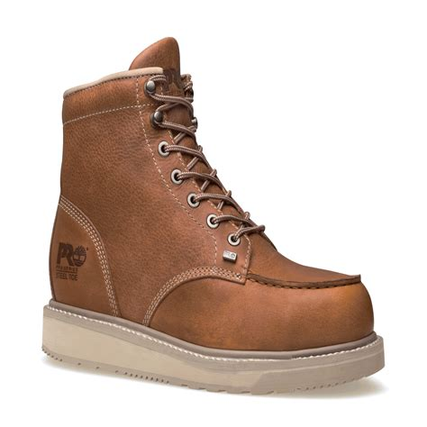 timberland pro barstow wedge 6 inch moc alloy toe work