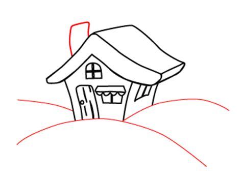 cartoon house drawing in 7 easy steps cartoon house drawing in 7 easy steps