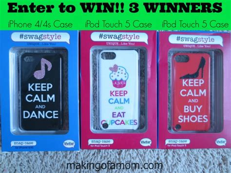 Free Ipod Touch 5 Giveaway - vivitar iphone and ipod case giveaway