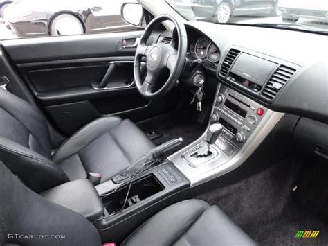 subaru legacy black interior black interior 2006 subaru legacy 2 5i limited sedan