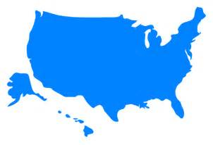 map usa clipart best