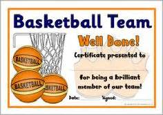 basketball c certificate template awards on award certificates student awards