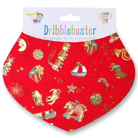 christmas baby gift bib by dribblebuster