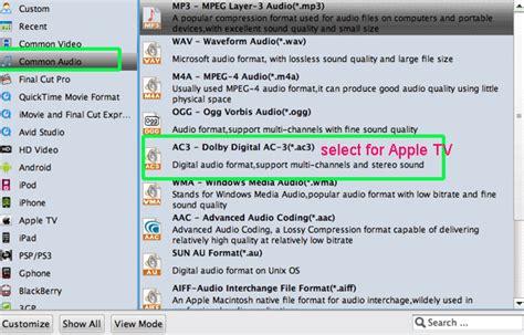 format audio apple tv apple tv 2 icon