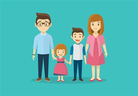 imagenes de la familia watterson familia cartoon free vector download free vector art