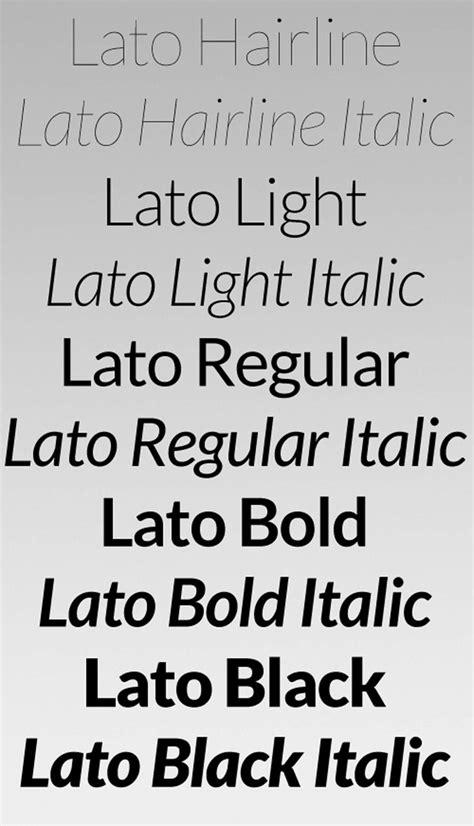 lato font family free digital downloads best 25 lato font ideas on logo typographie