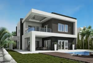 Modern Homes Excellent Villas Of Modern Design El Karma 4 Eclectic