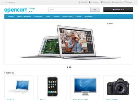 membuat website ecommerce dengan opencart opencart website development for ecommerce
