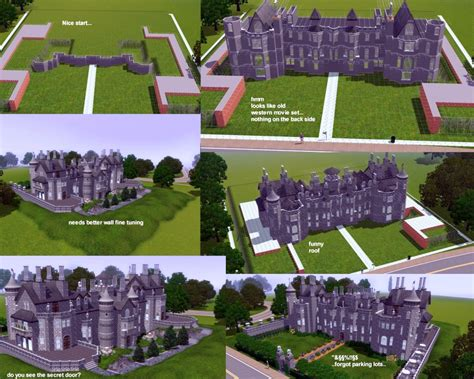 harlaxton manor floor plan mod the sims the white mansion