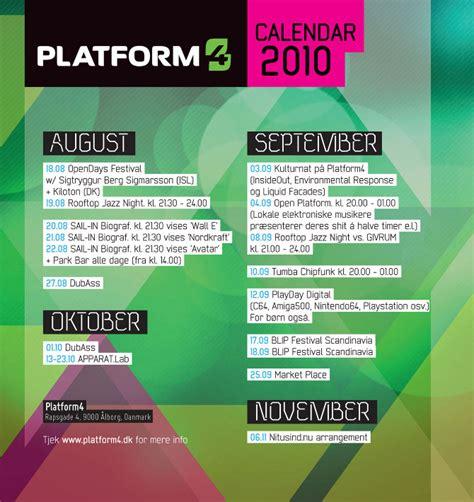platform calendar cynic design visualsstatic