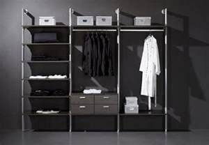 Open Closet Systems Open Closet Storage System Hold Everything
