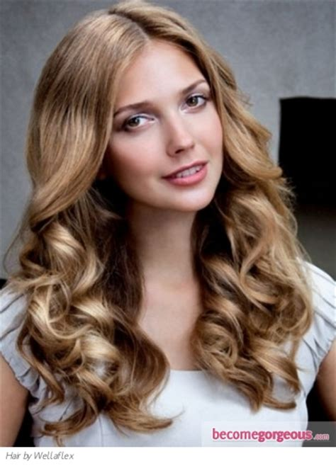 long loose curls hair style makeup tips and fashion