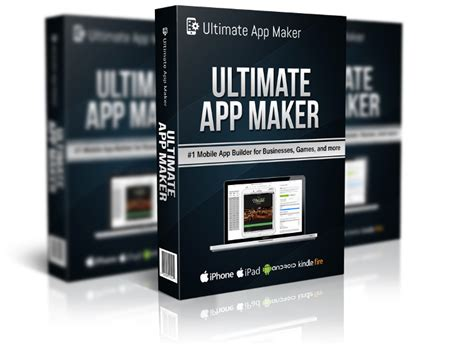 Maker App 1 Ultimate App Maker Ios Android App Building Software
