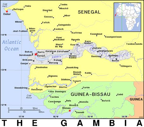 gambia world map gambia gmb gm country map atlas