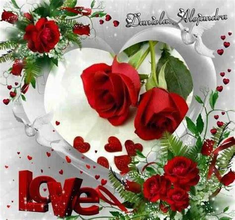 imagenes de corazones y rosas rojas hermosas im 225 genes de rosas con movimiento de amor