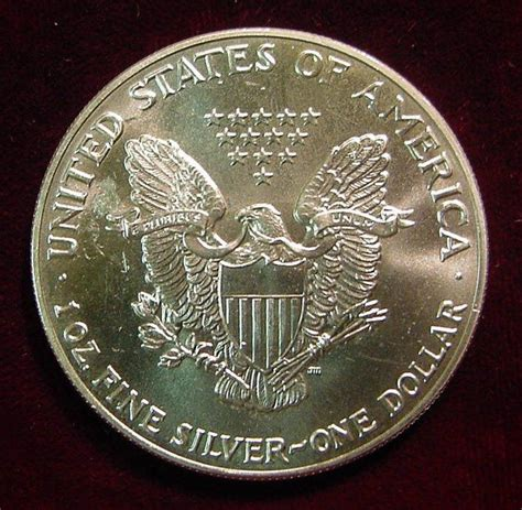 1 Oz Silver Dollar Worth - 1 oz silver one dollar american eagle silver dollar