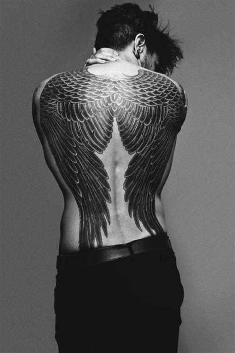 angel wing back tattoo 54 photos of wing tattoos