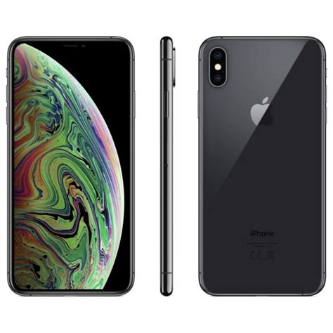 apple iphone xs max 512 go mt562zd a gris sid 233 ral pas cher achat vente iphone ios