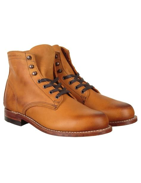 wolverine 1000 mile boot wolverine 1000 mile boot shoes boots from