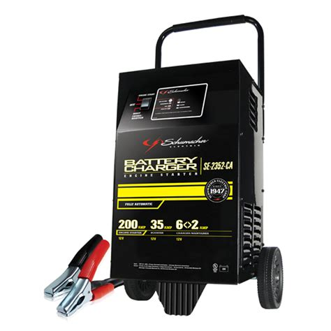 electric battery chargers shop schumacher electric fully automatic wheel charger