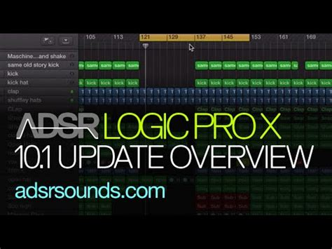 logic pro x what s new in 10 4 a different type of manual the visual approach books logic pro x 10 1 new features overview