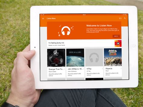 how to play home design on ipad google play music for ipad gets material design