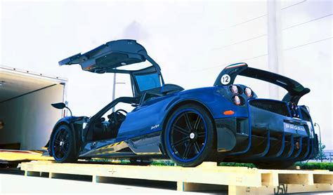 macchina volante delivery of kris singh s new pagani huayra bc macchina volante