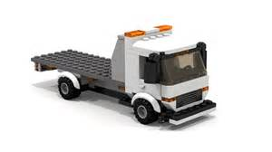 Lego Truck Moc Lego Flatbed Tow Truck Building