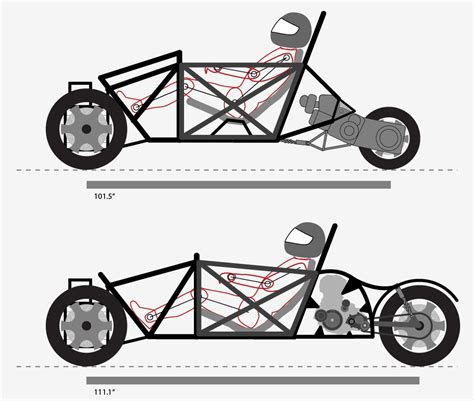 atv frame design download project streetliner page 3 a custom tilting trike