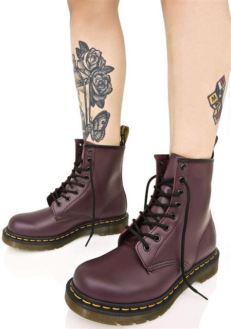 Boots Dr Martins dr martens royal purple 1460 8 eye boots dolls kill