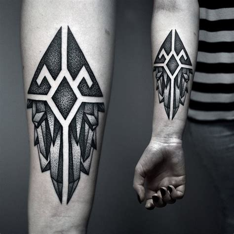 y pattern tattoo 88 incredibly meaningful geometric tattoo designs