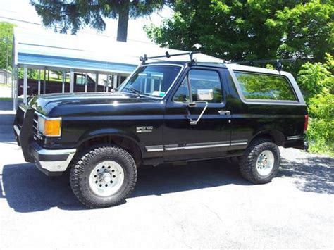 1991 ford bronco xlt for sale in havelock north carolina classified americanlisted com find used 1991 ford bronco custom eddie bauer 4x4 xlt 351 v8 efi roof rack in carlisle