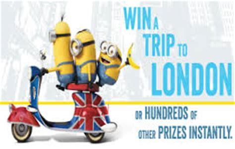 Minions Sweepstakes - free coloring pages