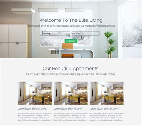 24 Easy Website Themes Templates Free Premium Templates Muse Real Estate Template