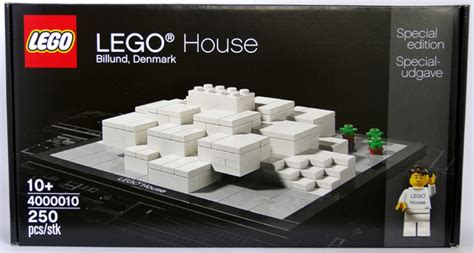 New Lego 4000010 Lego House Billund Denmark Special Edition B the lego house 4000010 special edition review by copmike